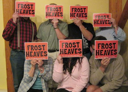Frost Heaves cast_signs